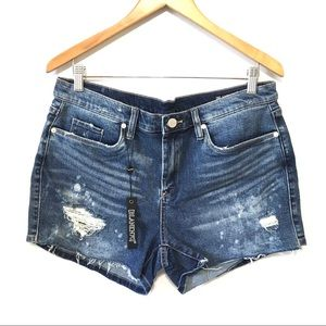 NWT BLANKNYC The Essex Distressed Denim Shorts 31